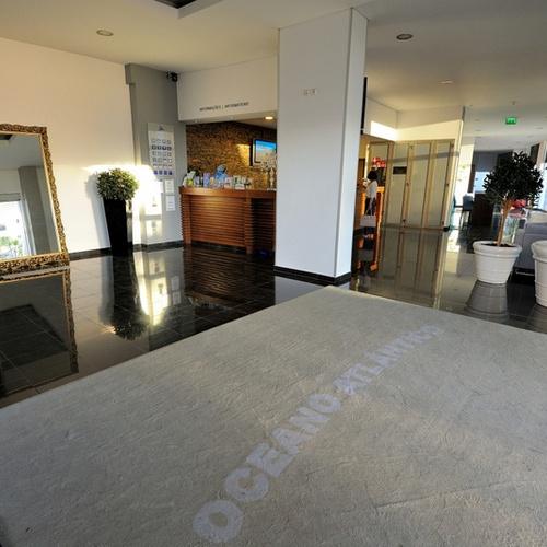 Recepción Apartamentos Oceano Atlântico